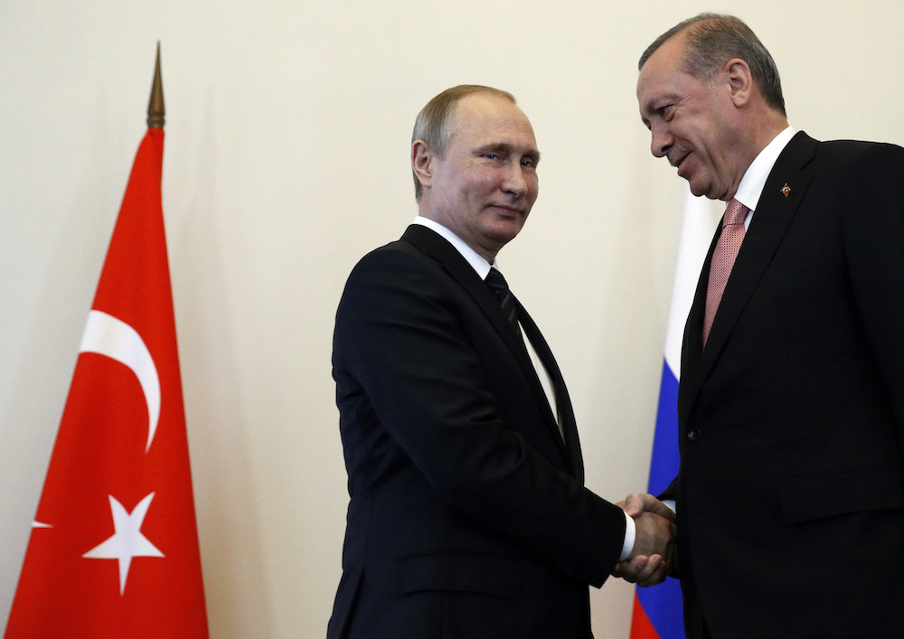 Erdogan and Putin 'reset' relations