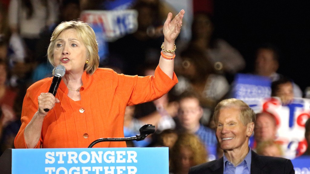 Hillary Clinton slams 'Trump loophole' in pitch to working-class voters