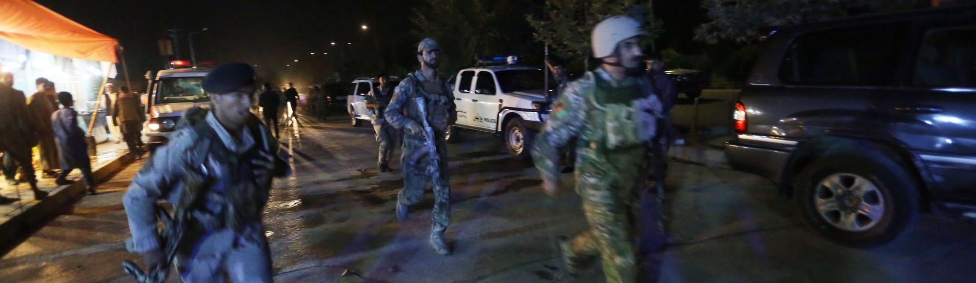 Hundreds of students trapped in attack on American University in Kabul