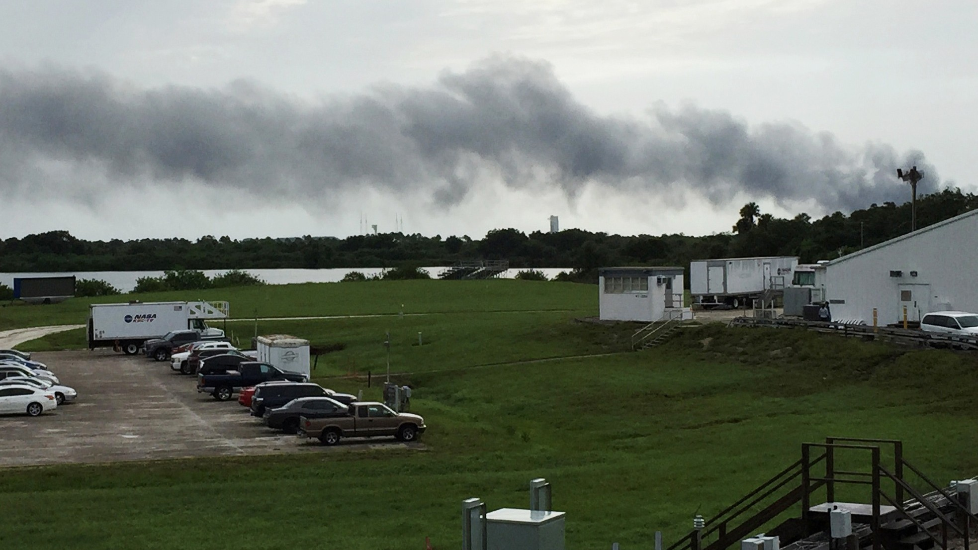 SpaceX just blew up another rocket during a routine test