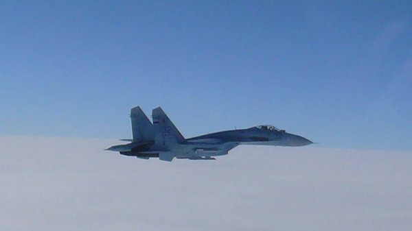 Russian fighter jet came within 10 feet of American plane over the Black Sea