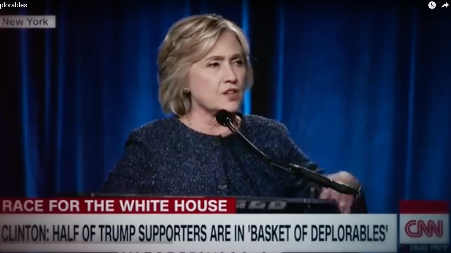 Trump puts $2 million behind ad attacking Clinton's 'basket of deplorables' comment