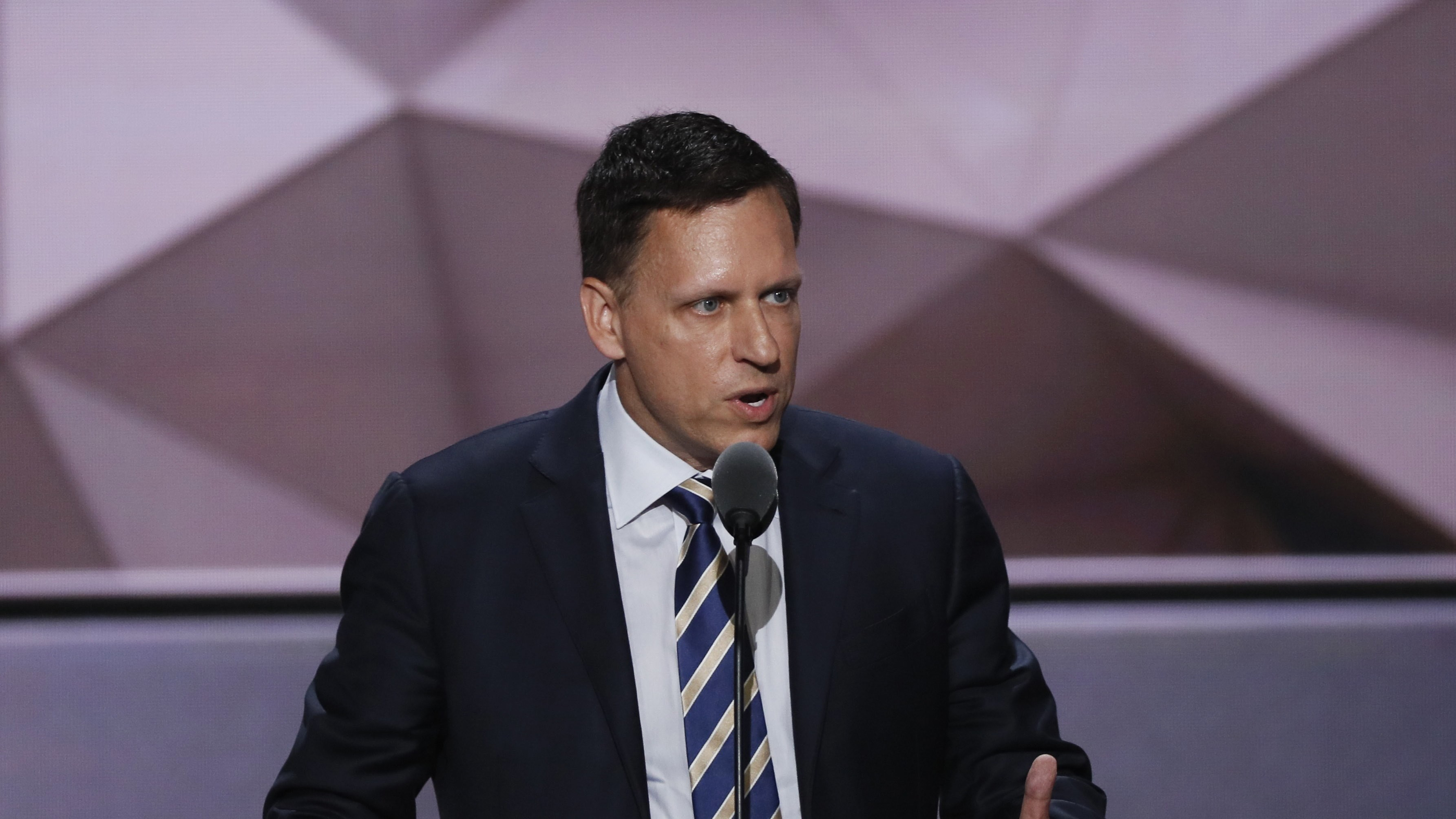 The US is suing Peter Thiel's secretive data startup for discriminating against Asians
