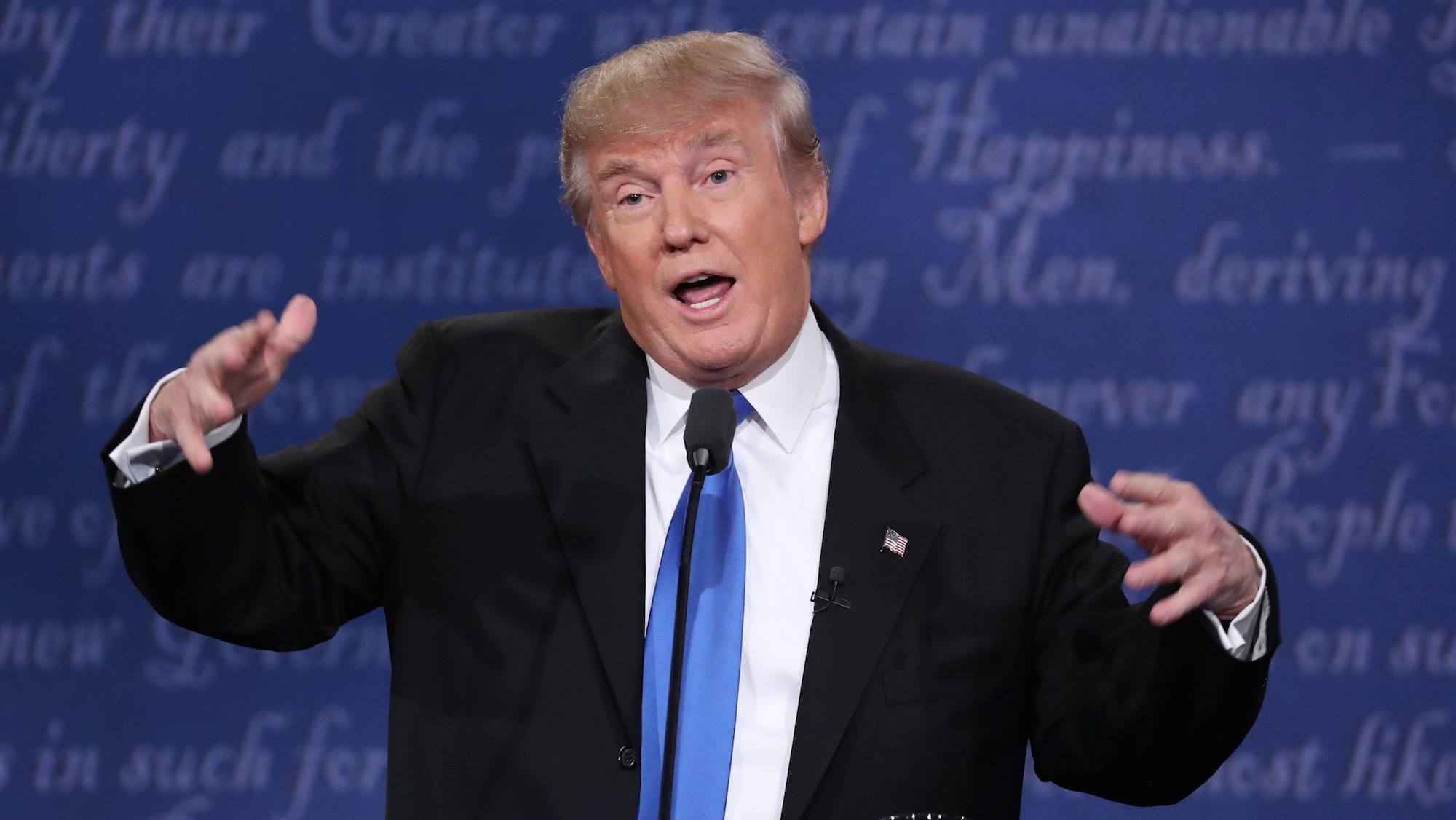 Donald Trump lost the debate on social media