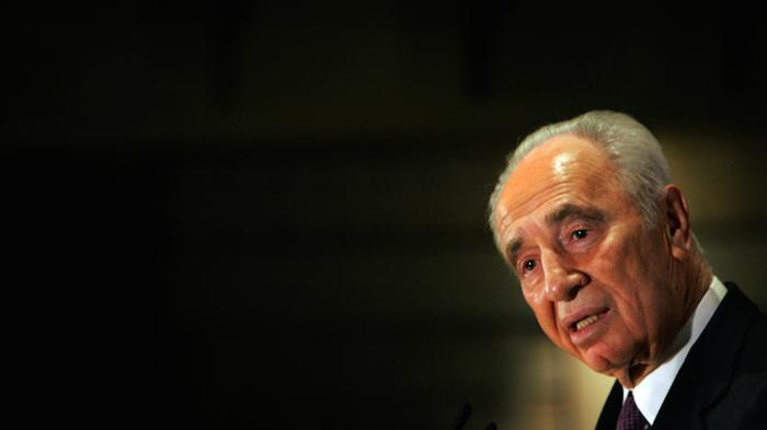 Shimon Peres became a beloved Israeli leader by staying quiet about peace