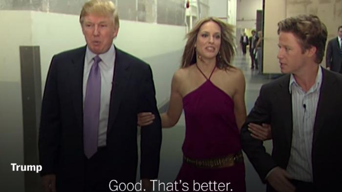 In 2005 tape, Trump suggests he can sexually assault women because he's 'a star'
