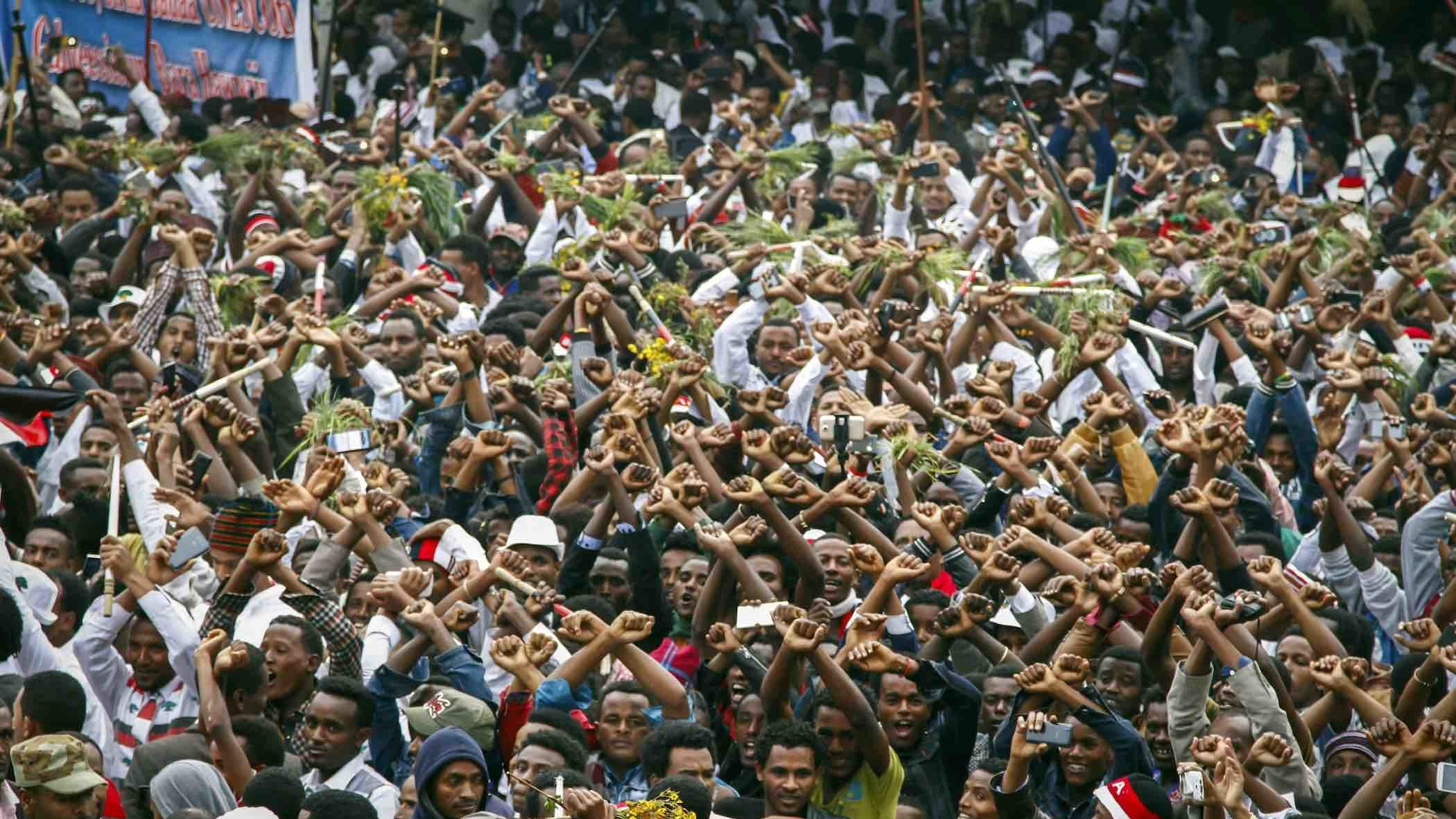 Ethiopia's massive protests are getting desperate - and dangerous