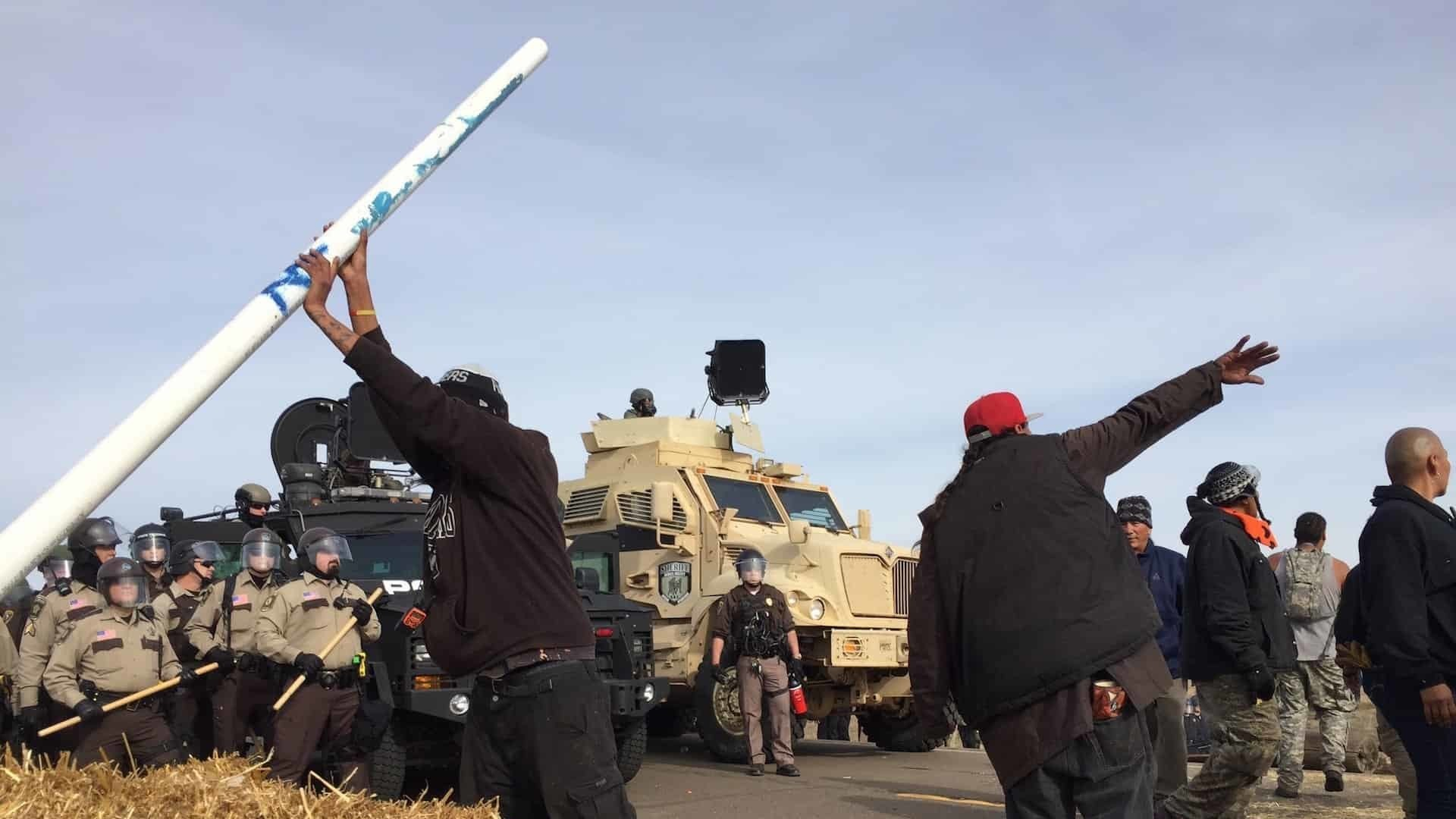 Tensions rise at Standing Rock as protesters clash with cops over the Dakota Access Pipeline project