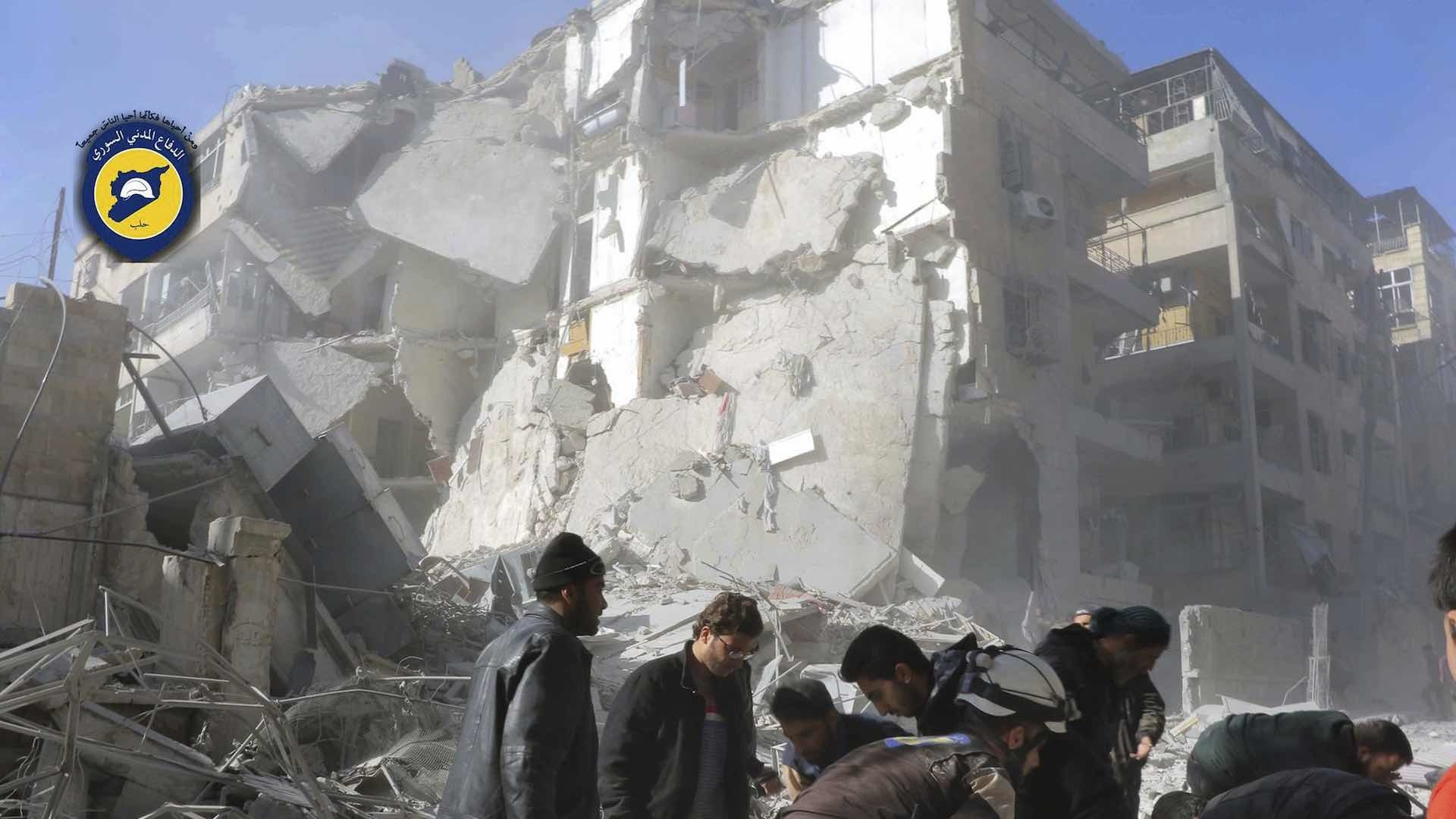More death in Aleppo