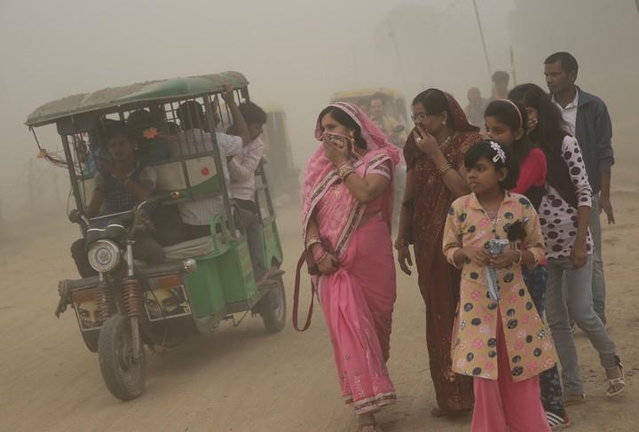 India supera a China como el país con mayor contaminación del aire en el mundo