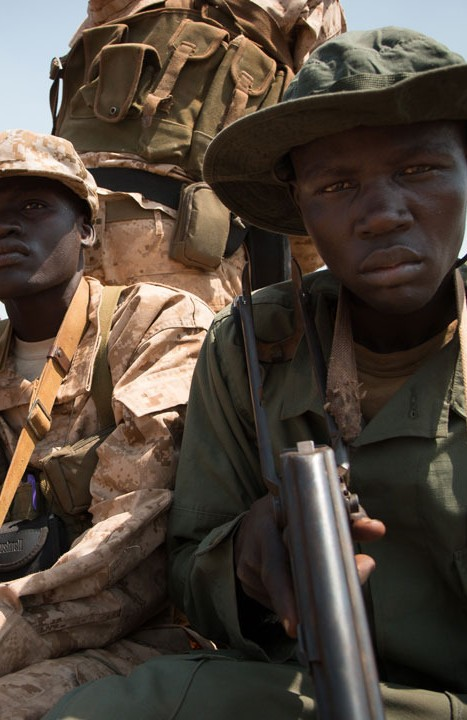 Ambushed in South Sudan