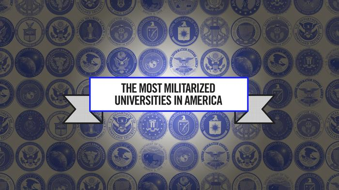the most militarized universities in america