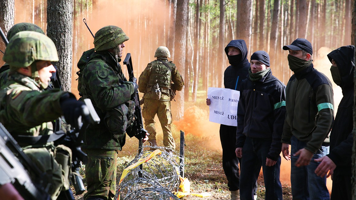 Mock Invasion By The State Of Udija (Extra Scene from 'The Russians Are Coming: Lithuania')