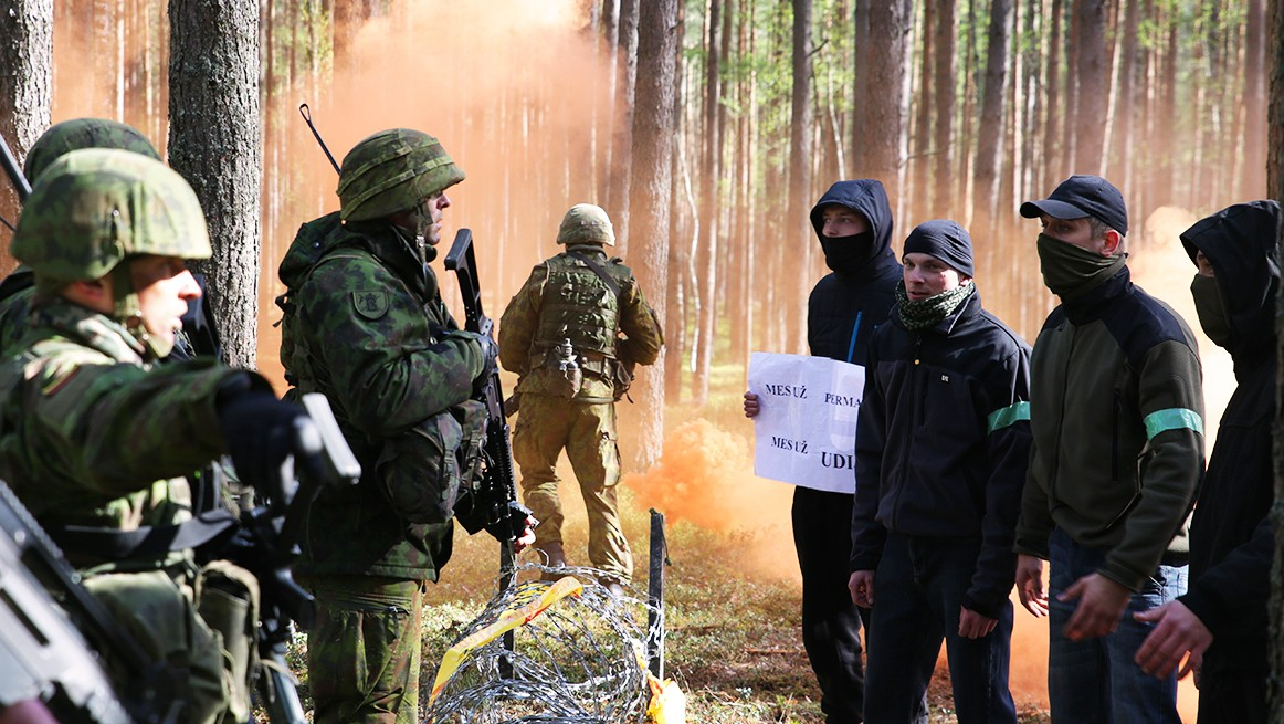 Mock Invasion By The State Of Udija (Extra Scene from 'The Russians Are Coming: Lithuania)