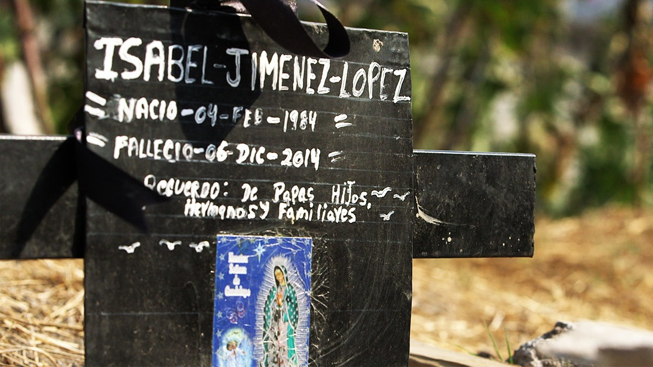 The Site of a Femicide (Extra Scene from 'The Murdered Women of the State of Mexico')