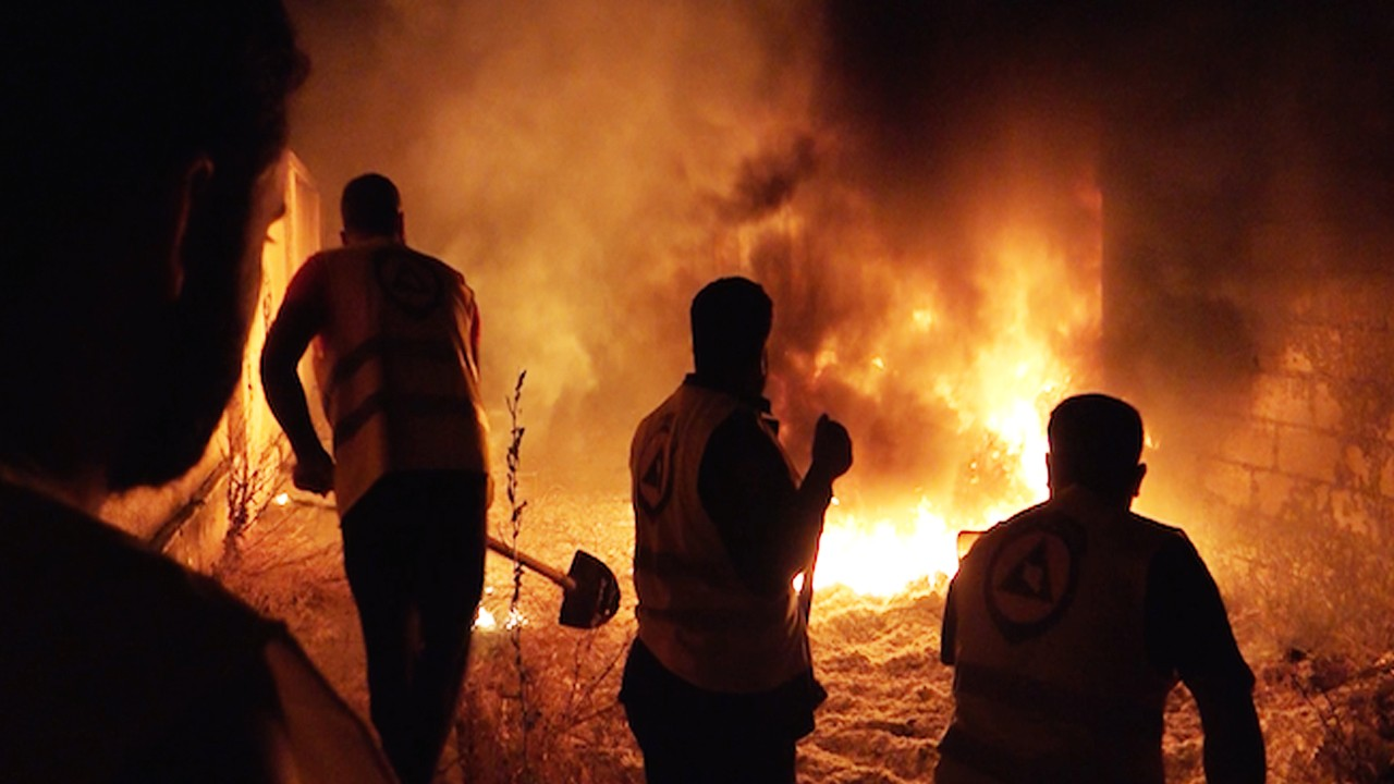 The Volunteer Firefighters of Daraa (Excerpt from 'The Battle for Syria's South')