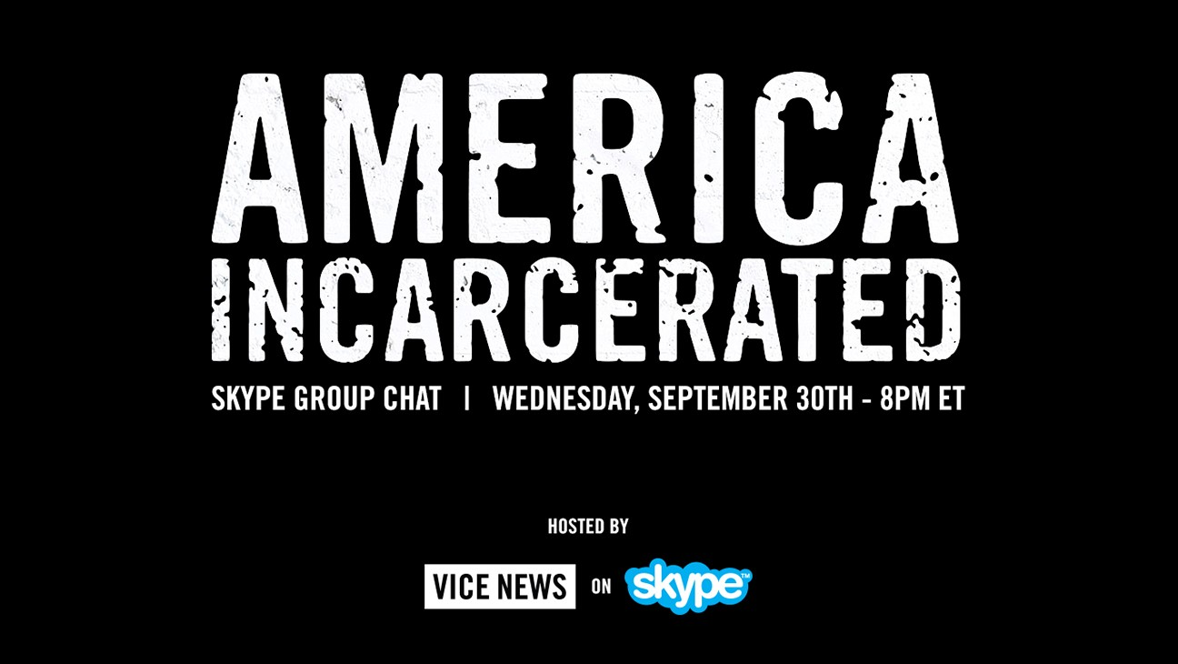 America Incarcerated: Join Our Skype Group Chat