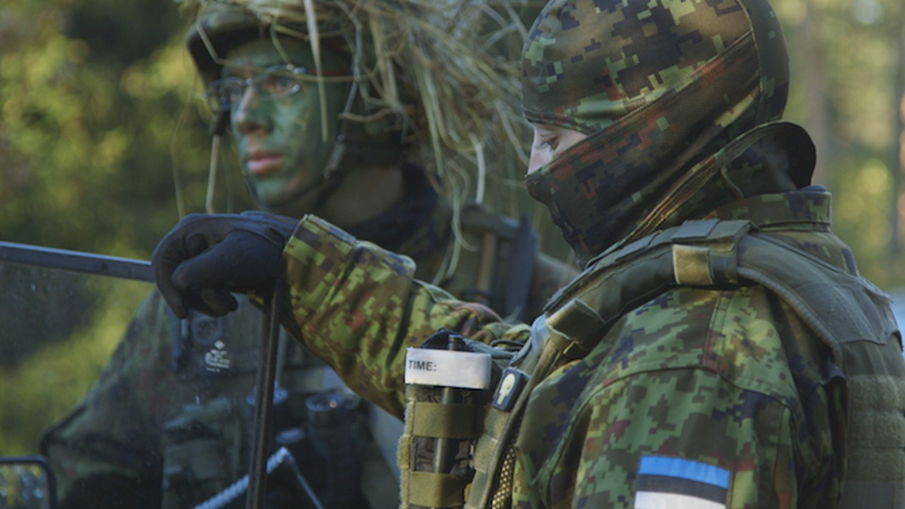 The Russians Are Coming: Estonia's National Militia (Trailer)