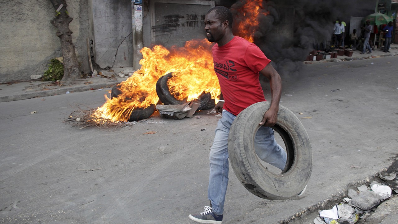 Quick Hit: Haiti Postpones Election Amid Violent Protests