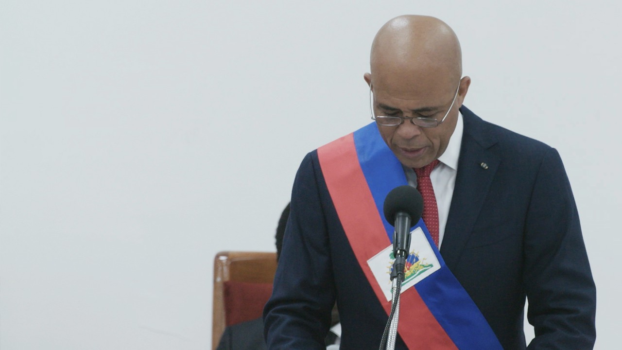 On The Line: Nilo Tabrizy Discusses Haiti's Presidential Turmoil