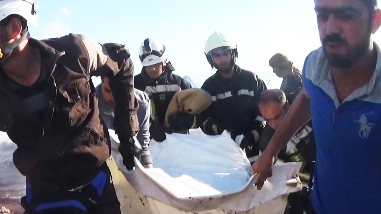 Quick Hit: Video Shows Aftermath of Airstrike on Syrian Refugee Camp
