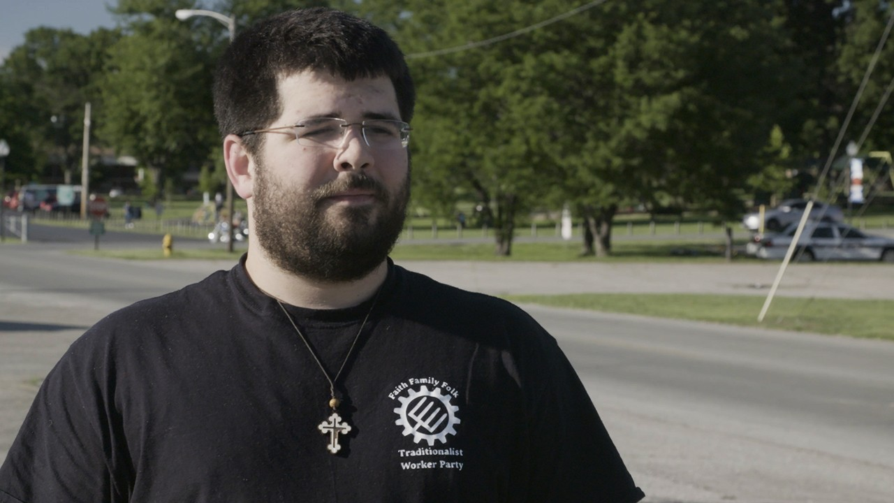 Matt Heimbach, whose group sparked violence in Sacramento, explains his white nationalist views