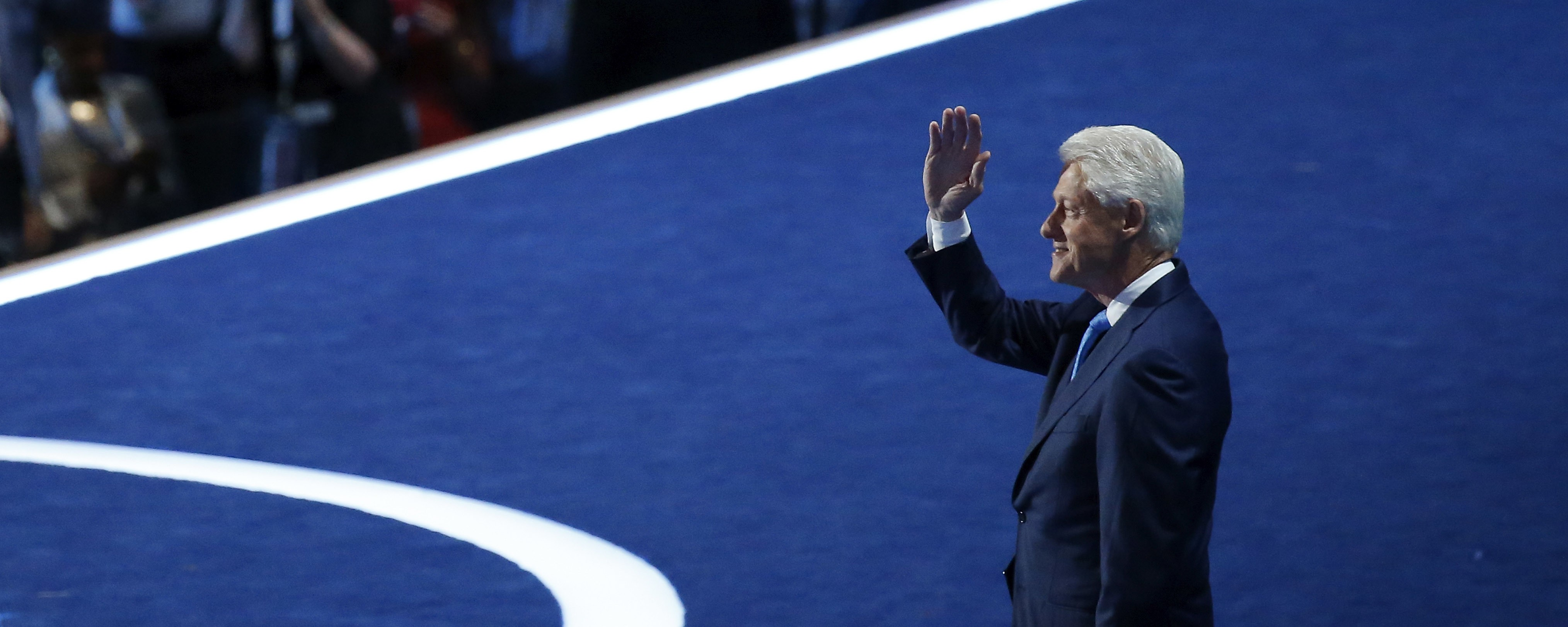 The best moments from Bill Clinton's speech at the Democratic convention