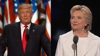 How Trump and Clinton compare on 4 different issues's Preview Image