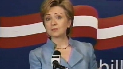 Hillary Clinton's distaste for the press is not a new thing